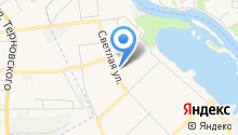 Детский квартал на карте