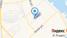 Город Спутник на карте