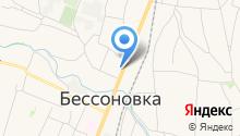 Управление пенсионного фонда РФ по Бессоновскому району на карте