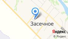 Автоцентр на ул. Механизаторов на карте