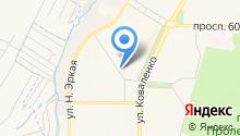 Бриз-М на карте