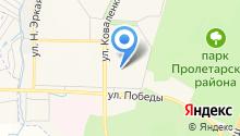Имплозия на карте