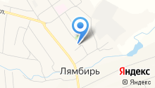 Социальная защита населения по Лямбирскому району Республики Мордовия на карте