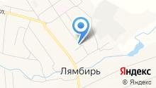 Социальная защита населения по Лямбирскому району Республики Мордовия, ГКУ на карте