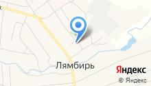 Прокуратура Лямбирского района на карте
