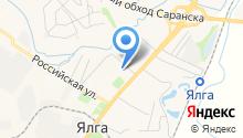 Ялга-Центр на карте