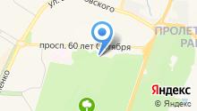 Парк культуры и отдыха Пролетарского района на карте