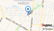 1 отряд ФПС по Республике Мордовия на карте