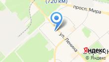 Отделение почтовой связи Заречный-5 на карте