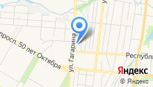 Ганимед СБ на карте