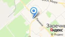 Инспекция Федеральной налоговой службы России по г. Заречному Пензенской области на карте