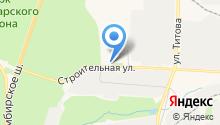 Дианпласт на карте