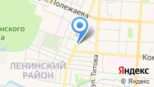 ГорОкнаСнаб на карте
