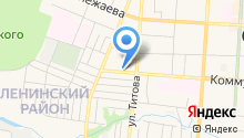 ИТЕКО Россия на карте