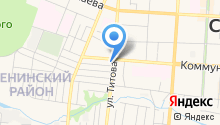 Адвокатский кабинет Емельянова Н.С. на карте