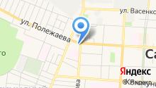 Камень-центр на карте