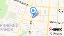 Дворец культуры городского округа Саранск на карте