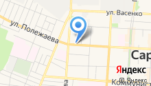 Волжско-Окское управление федеральной службы по экологическому и технологическому надзору Ростехнадзора по Республике Мордовия на карте