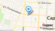Детская библиотека им. А.М. Горького на карте