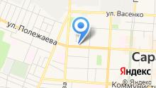 Городское агентство по приватизации жилищного фонда и обмену жилой площади на карте