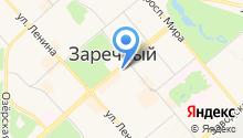 Юст на карте