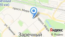 Магазин военных товаров на карте