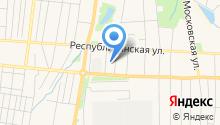 Гостевой дом на Грузинской на карте