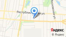 Вералина на карте