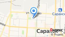 Авторадио Саранск, FM 103.7 на карте