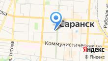 Бизнес план Саранск - Разработка бизнес плана в Саранске на карте