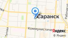 Департамент по социальной политике администрации городского округа Саранск на карте