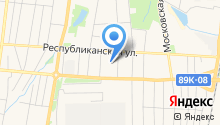 Гараж на карте