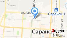 Дирекция коммунального хозяйства и благоустройства городского округа Саранск на карте