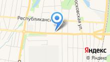 Avtokyb на карте