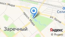 Производственное объединение Старт им. М.В. Проценко, ФГУП на карте