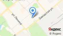 Территориальная организация профсоюза ЗАТО г. Заречный на карте