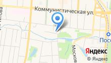 Ассоциация Строителей Мордовии, НП на карте