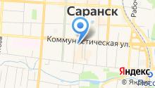 Государственная инспекция Республики Мордовия по надзору за техническим состоянием самоходных машин и других видов техники на карте