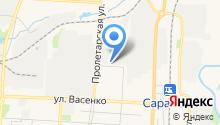 Saransk-Opel на карте
