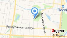 Деревенский Домик на карте