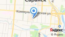 Газпром межрегионгаз Саранск на карте
