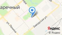 Медико-санитарная часть №59 Федерального медико-биологического агентства, ФГБУЗ на карте