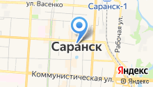 Ассоциация мини-футбола Республики Мордовия на карте