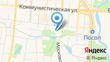 ГКЦ на карте