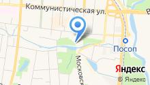 Детская художественная школа №1 им. П.Ф. Рябова на карте