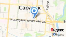 Государственная инспекция труда по Республике Мордовия на карте