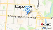Государственный комитет Республики Мордовия по транспорту на карте