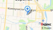 Главный федеральный инспектор по Республике Мордовия на карте