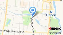 Бизнес-инкубатор Республики Мордовия на карте
