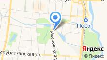 Бизнес-инкубатор Республики Мордовия, ГКУ на карте